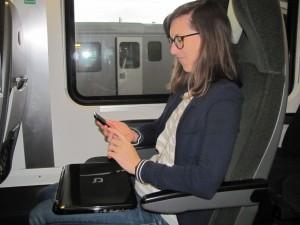 E-Learning in öffentlichen Verkehrsmitteln